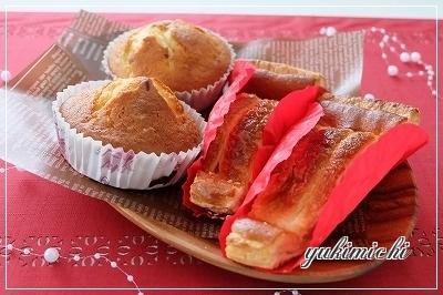tomoちゃんパン☆パイ&マフィン