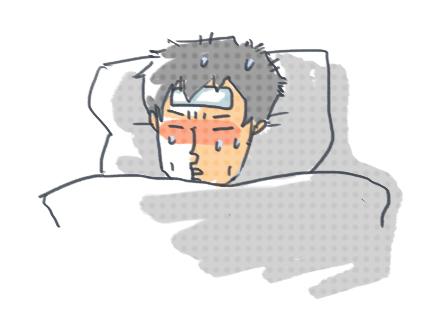 風邪だんな