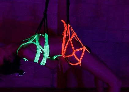 蛍光ロープ2