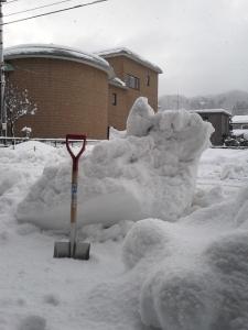 雪のかたまり