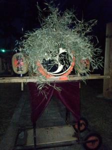 装飾された太鼓