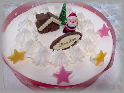 ヤマザキクリスマスケーキ 20141223