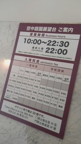 cafe SKY 40(スカイビルカフェ) (2)