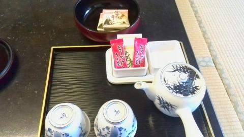伊勢路の香り(小涌園 お茶菓子) (2)
