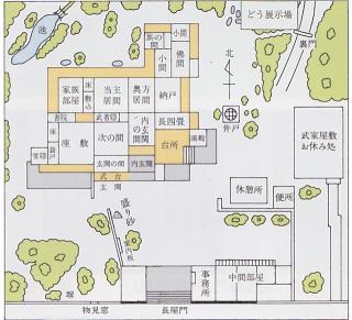 松江武家屋敷見取り図