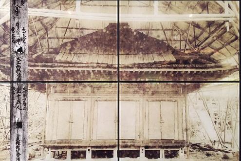 昭和5年(1930)の金色堂