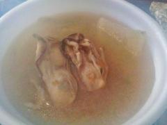 神社で牡蠣汁