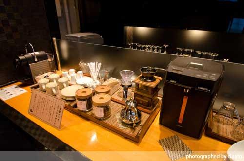 静岡県 伊東市 ラグジュアリー和ホテル 風の薫 ブログ 口コミ ラウンジ 挽きたてコーヒー 無料 写真15