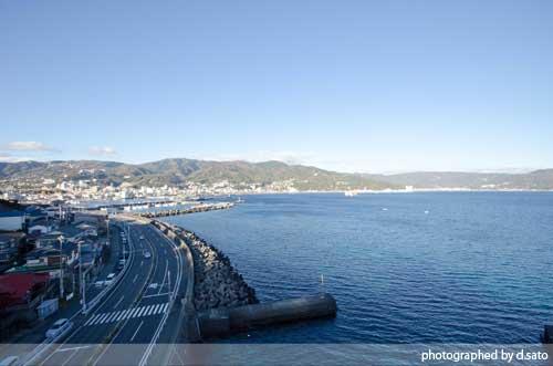 静岡県 伊東市 ラグジュアリー和ホテル 風の薫 桟橋 散歩 ブログ 口コミ 写真01