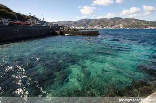 静岡県 伊東市 ラグジュアリー和ホテル 風の薫 桟橋 散歩 ブログ 口コミ 写真13
