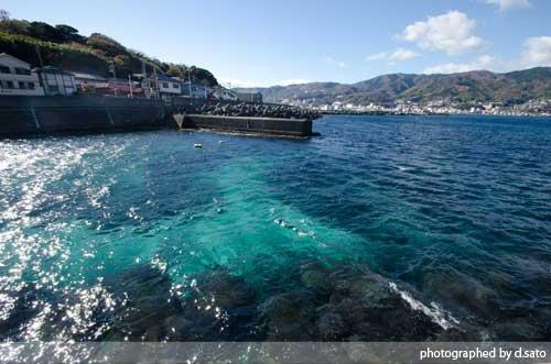 静岡県 伊東市 ラグジュアリー和ホテル 風の薫 桟橋 散歩 海がきれい ブログ 口コミ 写真16