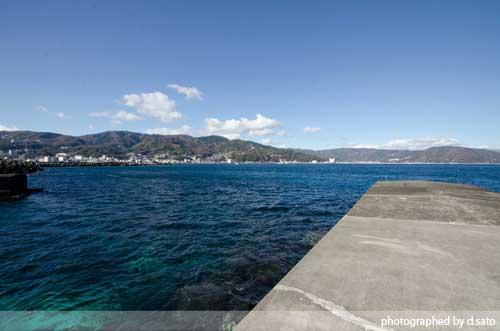 静岡県 伊東市 ラグジュアリー和ホテル 風の薫 桟橋 散歩 海がきれい ブログ 口コミ 写真17