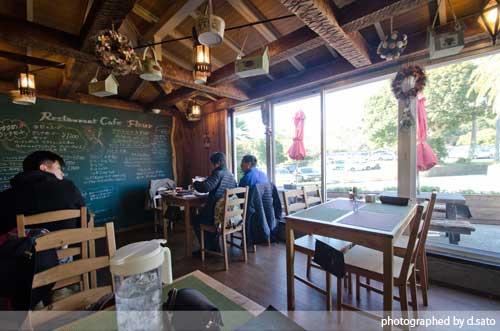 静岡県 伊東市 伊豆 四季の花公園 カフェレストラン フルール おしゃれなランチとインテリア27