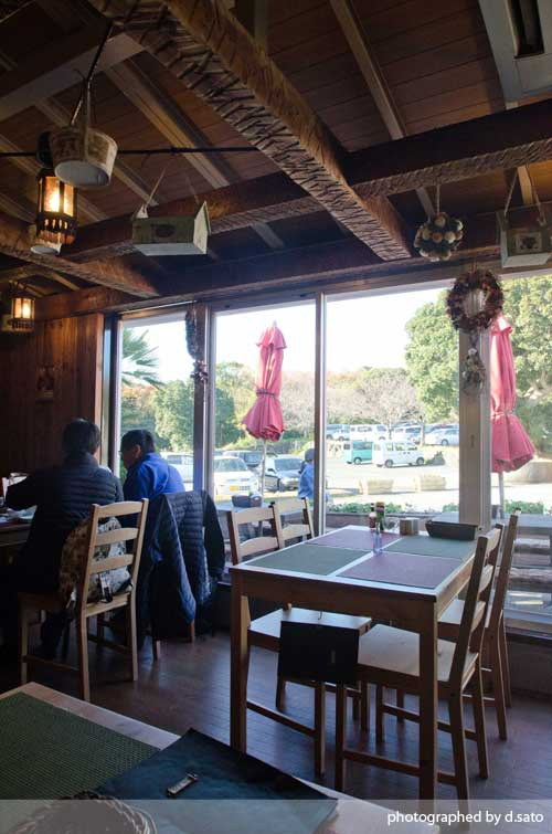 静岡県 伊東市 伊豆 四季の花公園 カフェレストラン フルール おしゃれなランチとインテリア31