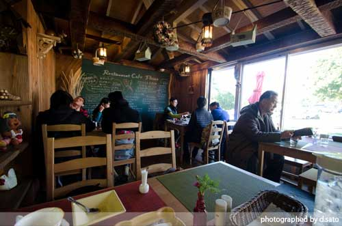 静岡県 伊東市 伊豆 四季の花公園 カフェレストラン フルール おしゃれなランチとインテリア33