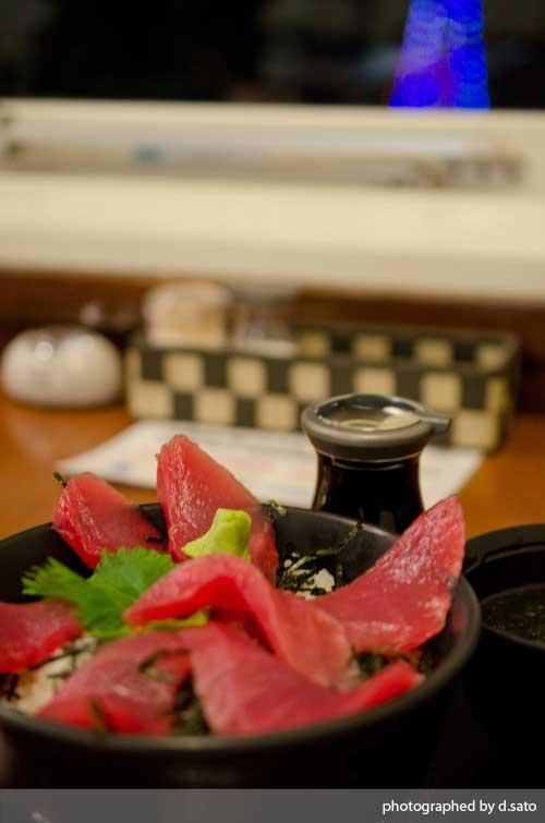 静岡県 伊東市 道の駅 伊東マリンタウン 海鮮丼 レストラン ばんばん食堂 まぐろ丼03
