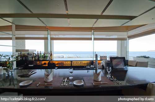 千葉県 館山 森羅 口コミ ランチ 昼食 海が見えるレストラン 絶景 花しぶきリゾート インテリア 写真01