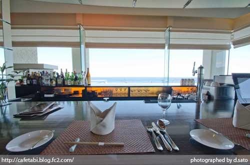 千葉県 館山 森羅 口コミ ランチ 昼食 海が見えるレストラン 絶景 花しぶきリゾート インテリア 写真14