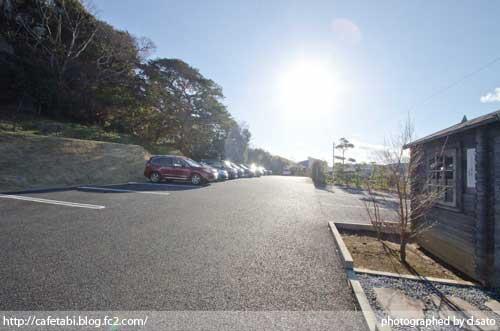 千葉県 館山 森羅 口コミ ランチ 昼食 海が見えるレストラン 絶景 花しぶきリゾート 外観 駐車場 写真11