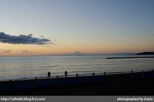 千葉県 館山市 北条海岸 富士山が見える 海辺 綺麗な景色02