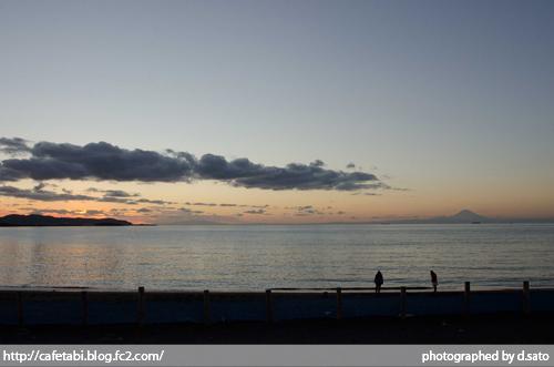 千葉県 館山市 北条海岸 富士山が見える 海辺 綺麗な景色01