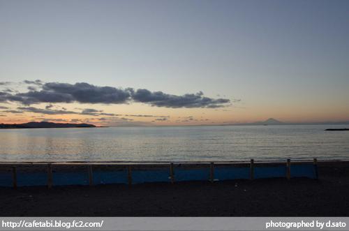 千葉県 館山市 北条海岸 富士山が見える 海辺 綺麗な景色04
