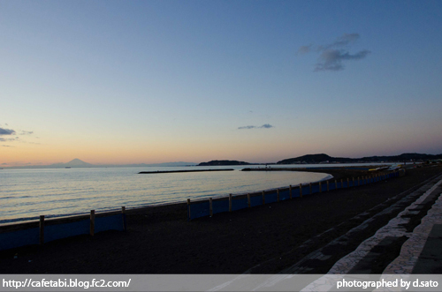 千葉県 館山市 北条海岸 富士山が見える 海辺 綺麗な景色05