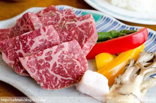 山形県 尾花沢市 レストラン 徳良湖 ステーキ ランチ 旨い 霜降り和牛 洋食12