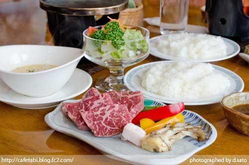 山形県 尾花沢市 レストラン 徳良湖 ステーキ ランチ 旨い 霜降り和牛 洋食14