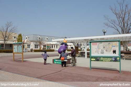 那須どうぶつ王国 ゲート内と 王国タウンの写真 10