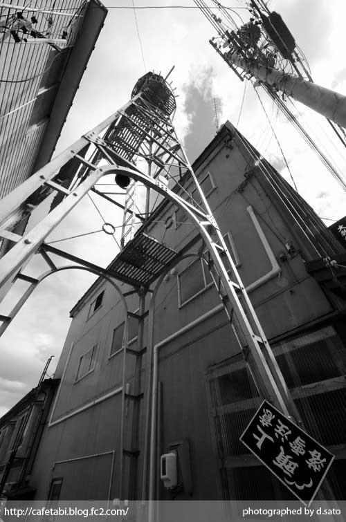モノクロ写真展 長野県 飯山市 仏壇通り 街並み 白黒写真 街歩き 観光写真 05