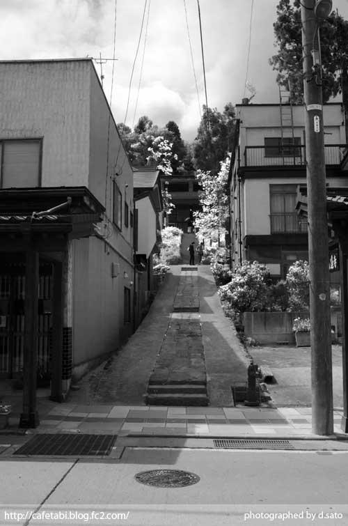 モノクロ写真展 長野県 飯山市 仏壇通り 街並み 白黒写真 街歩き 観光写真 06