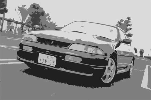 NISSAN SKYLINE R33 Type GTS