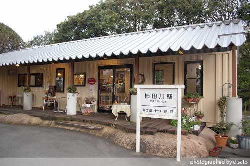 静岡県 駿東郡 柿田川 湧水公園 パワースポット 駐車場 湧き水カフェ の写真 02