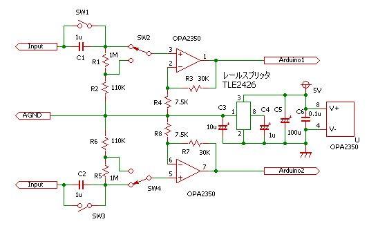ArudinoOsillo3回路図