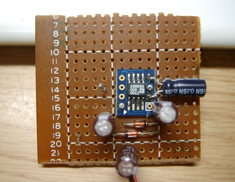 ADM8660実験基板