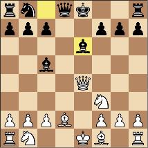 1戦目黒9手目を指した場面。Qxb7は可能か?