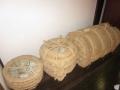 陶器の荷造り