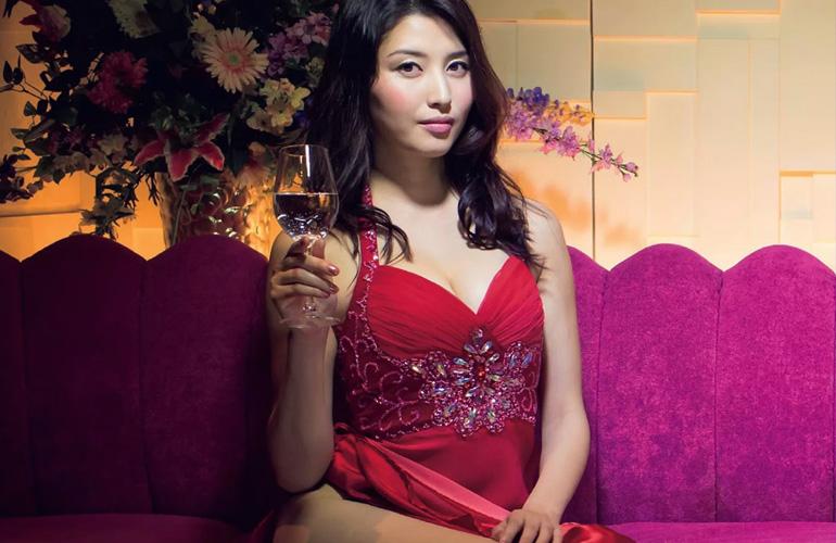 もしも橋本マナミが高級クラブ嬢だったら