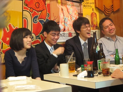 いけるい』の将棋日記 梶浦宏孝先生 四段昇段パーティー
