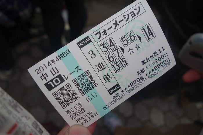 有馬記念2014-10