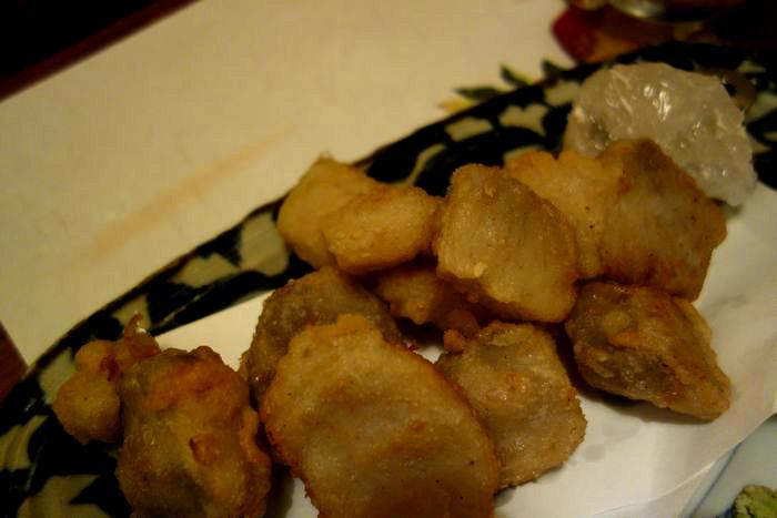 里芋の天ぷら