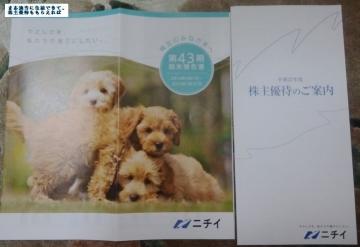 ニチイ学館 優待内容01 201503