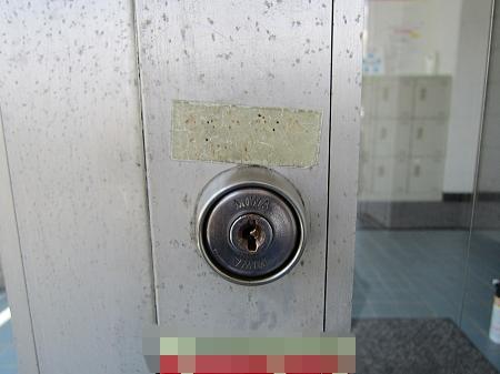 事務所の鍵交換 前 さいたま市