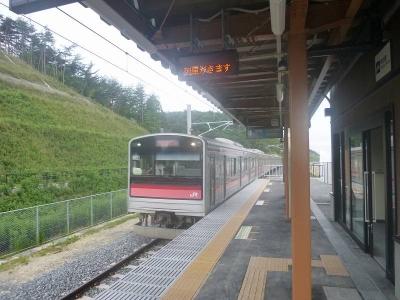 東名駅下り2本目