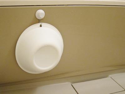 洗面器 置き場