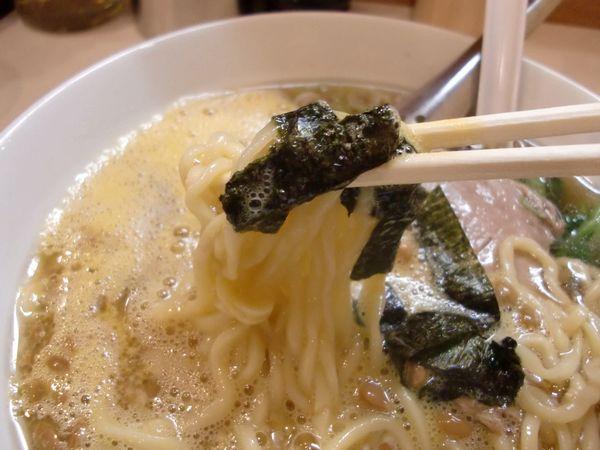 ほりうち@新橋・20150402・納豆麺