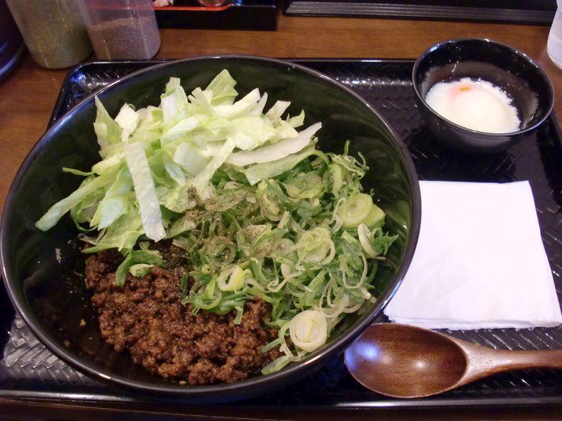 湯島ひよこ堂@湯島・20150414・汁なし担担麺