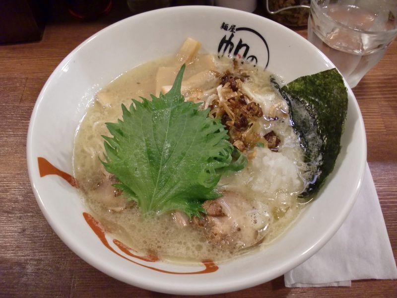 帆のる@三越前・20150615・鶏白湯