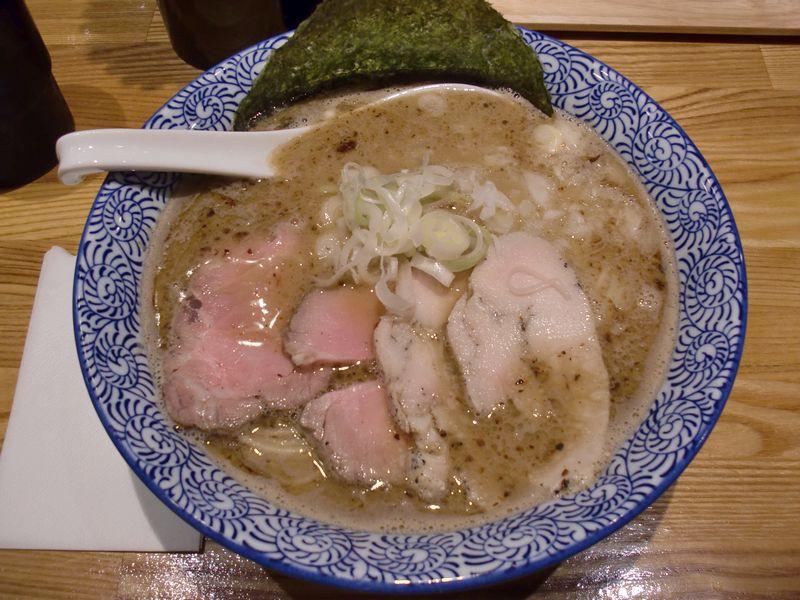 青雲の志@新橋・20150623・煮干鶏白湯